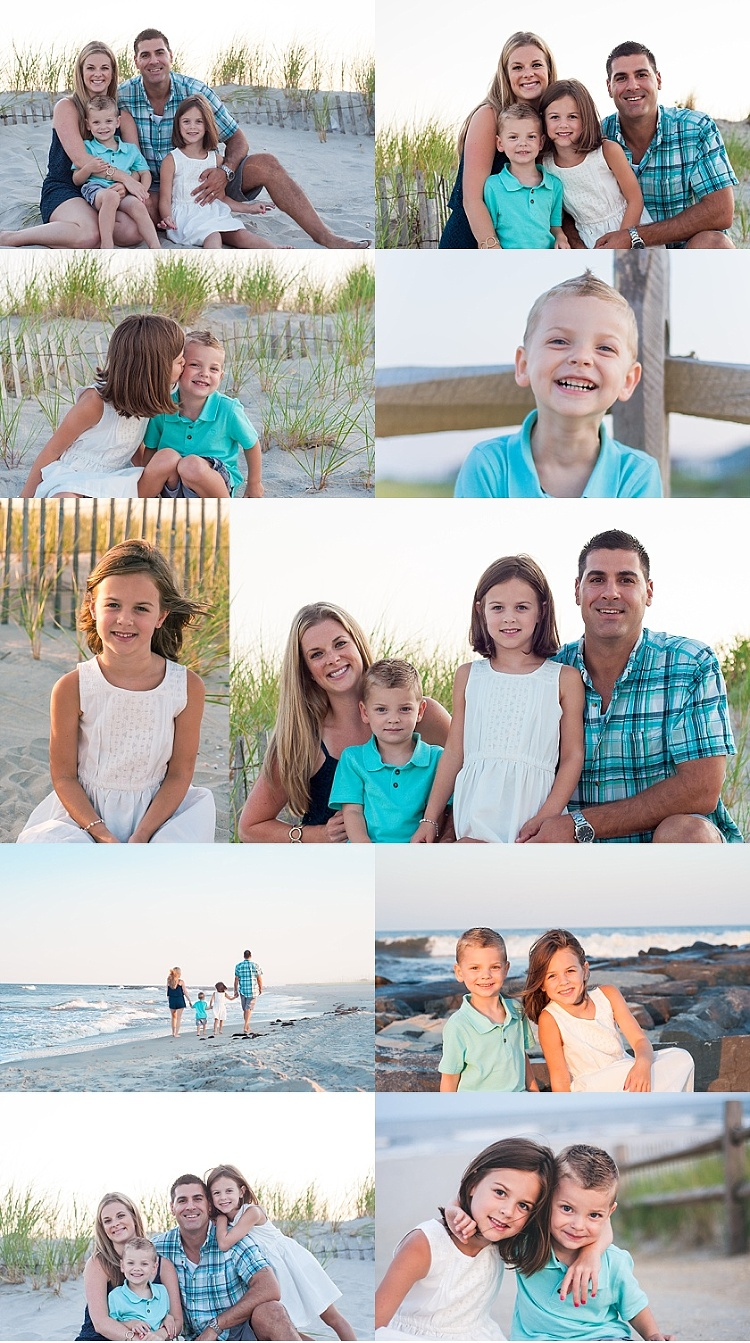 Ocean City NJ family beach photos