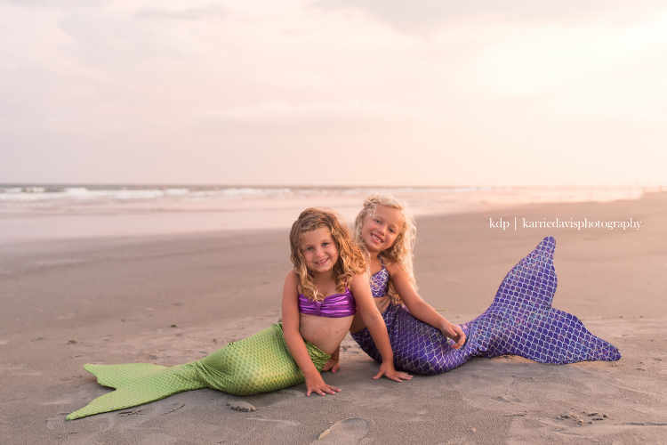 Mermaid Photos for girls at the Jersey Shore