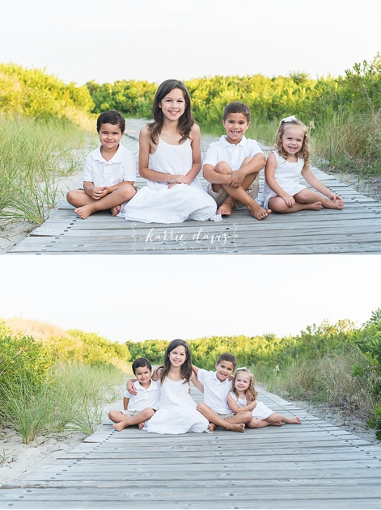 ideas for outfits for kids during beach photos