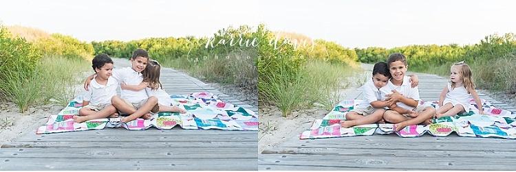 Wildwood Crest beach family photos