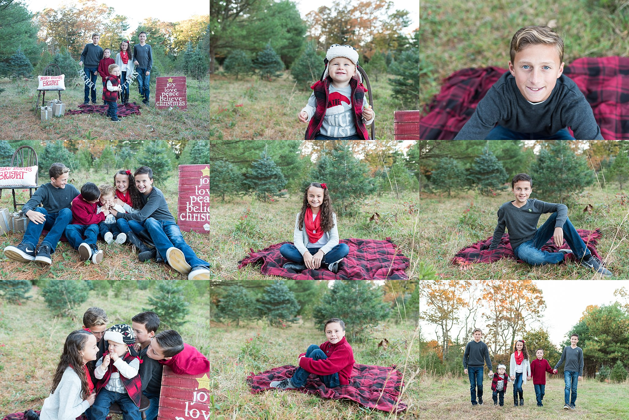 Christmas Tree Farm Mini Sessions.Christmas Tree Farm Holiday Pictures Nj Family Photographer