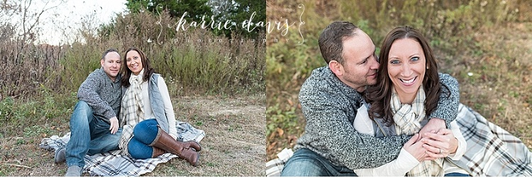 Couple portraits during family photos in South Jersey. Photos by Karrie Davis Photography