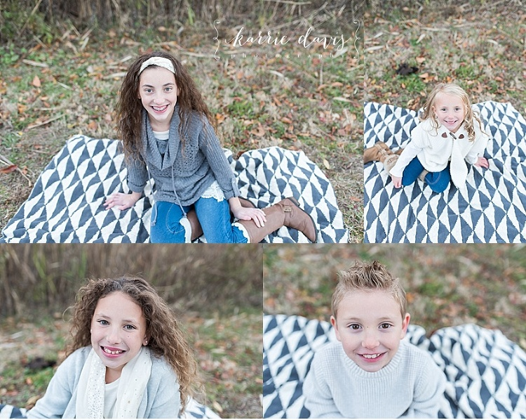 Children photographer in Cape May NJ captured this four kids for their family photo sessions.
