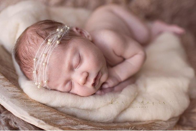South Jersey newborn photographer captures this beautiful baby girl. love the newborn posing
