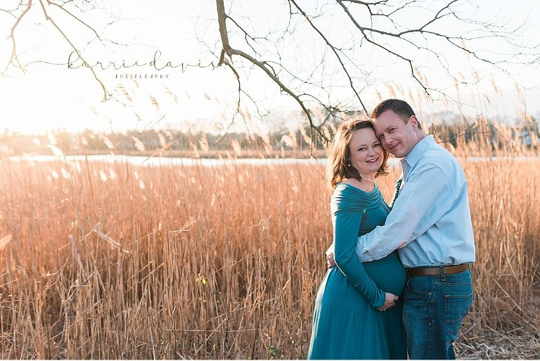 south jersey maternity pictures
