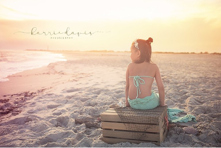 props for mermaid photo sessions. Cape May NJ