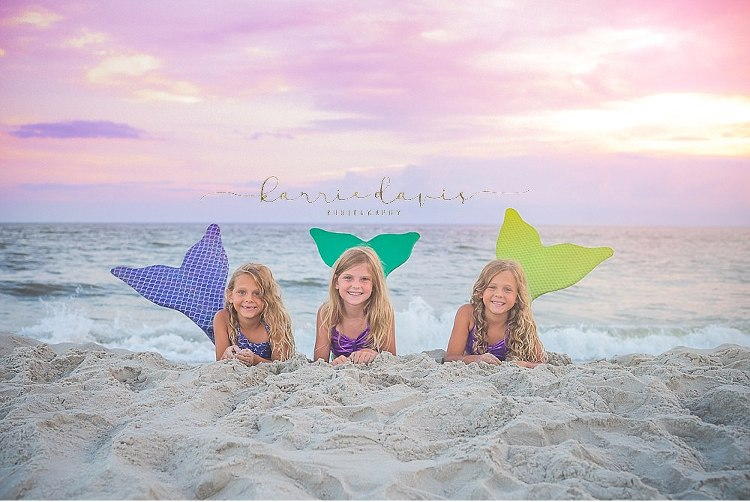 Fun Cape May Mermaid Photo Sessions