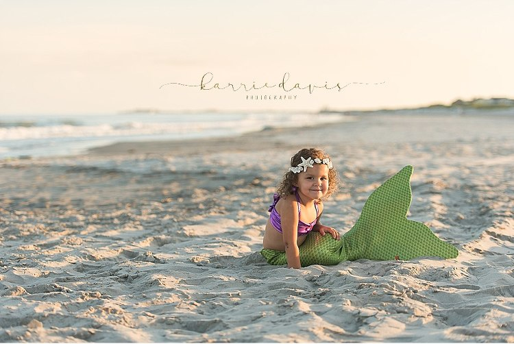 Cute mermaid pose ideas