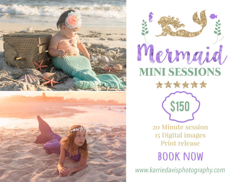 mermaid mini session
