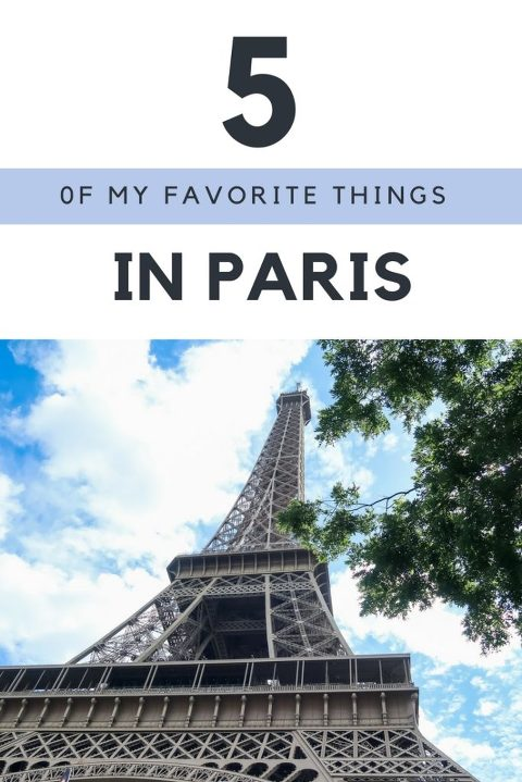 5 Things you Must Do in Paris