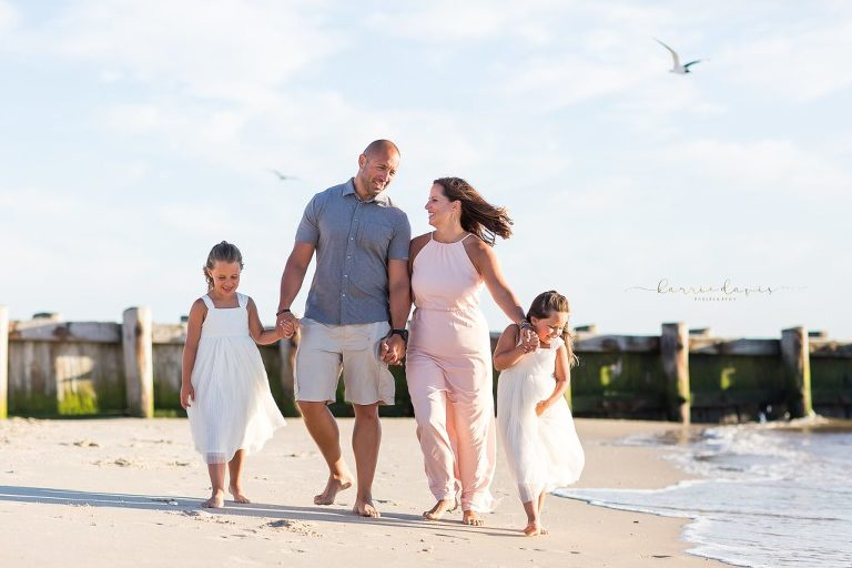 summer family photos in cape may